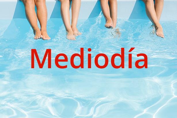 Reservas de piscinas municipales horarios a mediodía